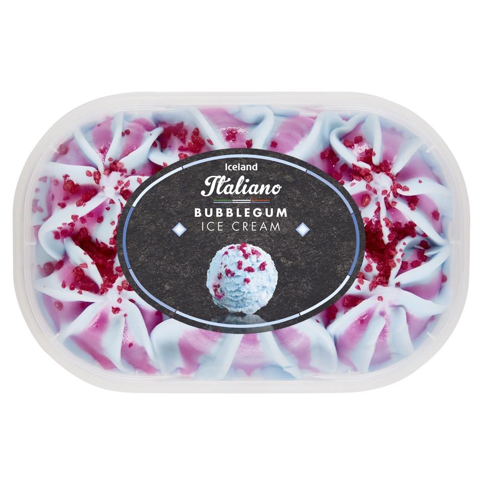 Iceland Italiano Bubblegum Ice Cream 900ml £1.50 @ Iceland