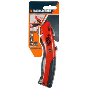 Black & Decker Retractable Blade Knife £3.99 @ B&M