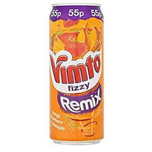 VIMTO REMIX 330ML CAN 29p @ Poundstretcher