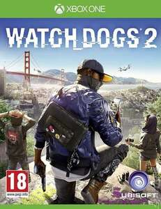 Watch Dogs 2 Xbox One £7.99 at Music Magpie - Pre Owned