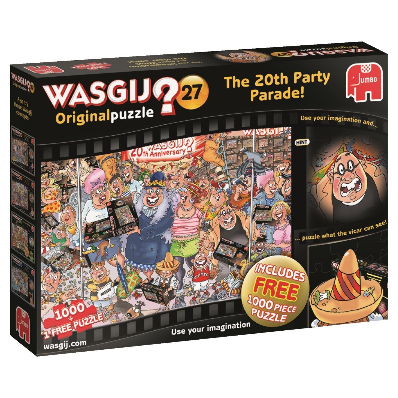 Wasgij 27 The 20th Anniversary Party Parade (2 x 1000-Piece) £7.98 Prime / £12.47 Non Prime @ Amazon