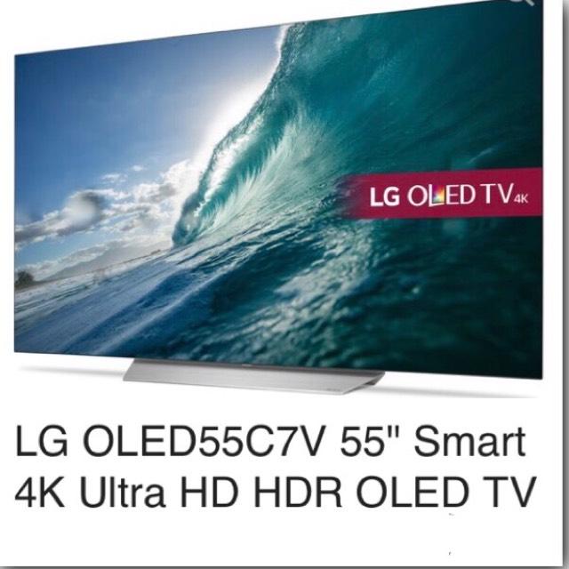 """LG OLED55C7V 55"""" Smart 4K Ultra HD TV £1344 using code @ rlrdistribution"""
