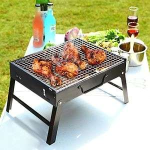 Portable Folding Barbecue Free Post £6.99 sml £8.99 LG @ Ebay color-pro