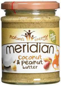 Meridian Coconut and Peanut Butter 280 g (Pack of 6) £9 Prime / £13.49 Non Prime @ Amazon
