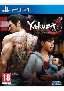 Yakuza 6: The Song of Life - Art Book Edition [PS4] £29.85 @ SimplyGames