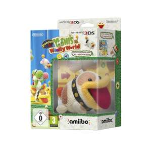 Poochy and Yoshi's Woolly World - Amiibo Bundle (Nintendo 3DS) £25.18 @ Amazon Prime Now (£3.99 delivery on orders below £40)