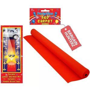 VIP RED CARPET RUNNER 15 X 2ft - 99p @ bargainhunterzuk eBay