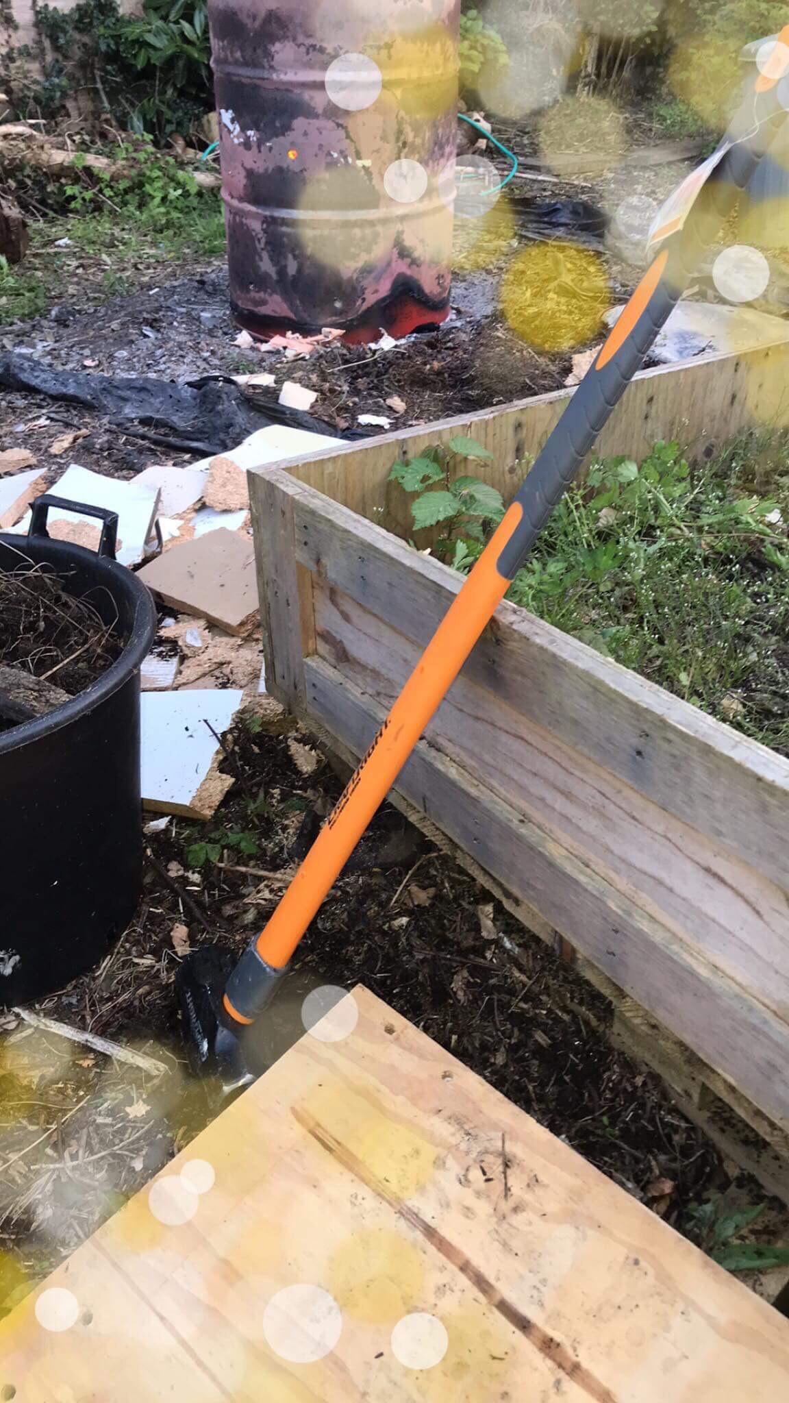 Craftright 3.5kg long handle sledge hammer - homebase instore - Yeovil £5