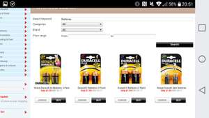 Duracell batteries, assorted sizes and prices at Home bargains. Cheaper than Poundland. Rrp £4.17.
