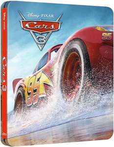 Cars 3 3D Collectors Steelbook Blu-Ray £8.49 Delivered at Zavvi