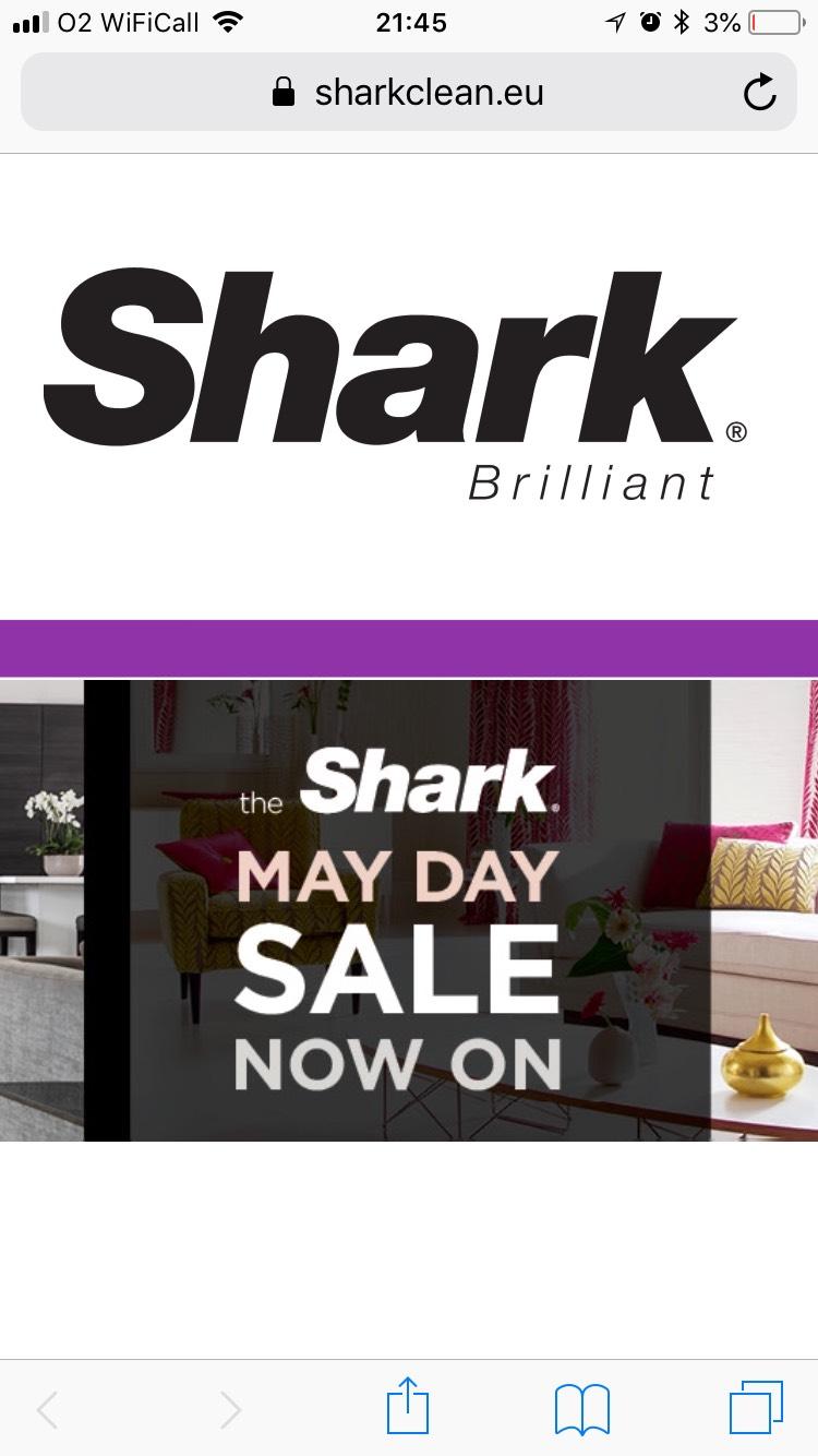 Shark Sale + 5% off