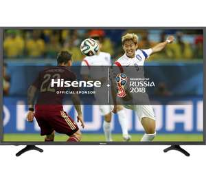 "HISENSE H49N5500UK 49"" Smart 4K Ultra HD HDR LED TV £349 @ Currys"
