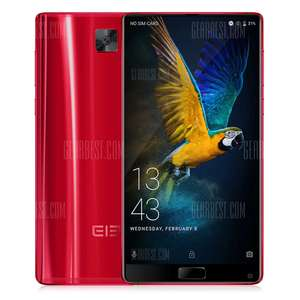 28% off - Elephone S8 4G Phablet - RED . @gearbest flash sale £159.82