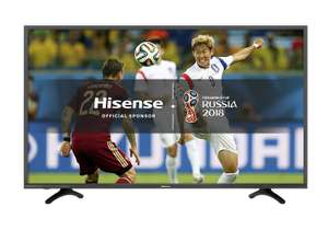Hisense H49N5500UK 49inch 4K UHD Smart TV - Black £329.99 @ Amazon