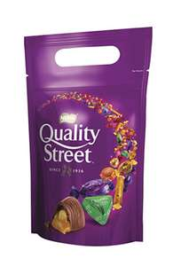 Quality Street Assorted Chocolates Pouch Bag, 500 g, (Pack of 8) amazon prime £23.12