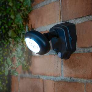 Outdoor Security Light £9.99  (MRRP £25.00) instore at B&M