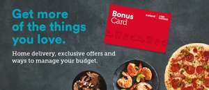 £2 bonus on registering the bonus card at Iceland foods