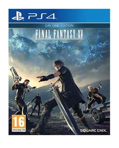 Final Fantasy XV only £6.92 at music magpie