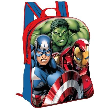 Marvel Avengers 3D Backpack Bag £4.99 @ B & M