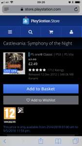 Castlevania: Symphony of the night and other Castlevania deals