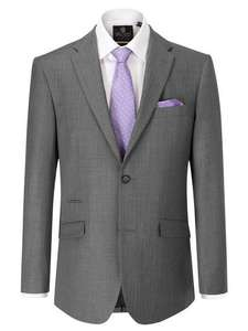 Kristoff Stripe Tailored Fit Suit Jacket plus free watch worth£35 when you spend £100@ house of fraser
