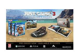 Just cause 3 collectors edition xb1 £35.70 Dispatched and sold by Warby 4 Games & Gifts - Amazon