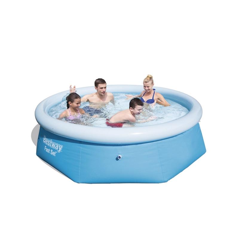 Bestway 8ft Inflatable pool £20 @ Homebase instore