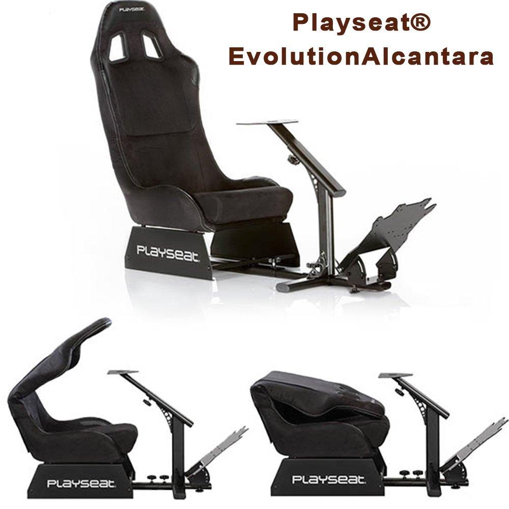 Playseat Evolution - Alcantara (PS4/PS3/Xbox 360/Xbox One/PC DVD) £184.09 @ Amazon