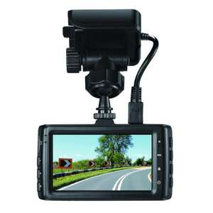 RAC 225S Super HD Dashcam with 8GB SD Card & free lifetime UK Safety Camera Data / GPS - £96.91 Delivered @ QVC