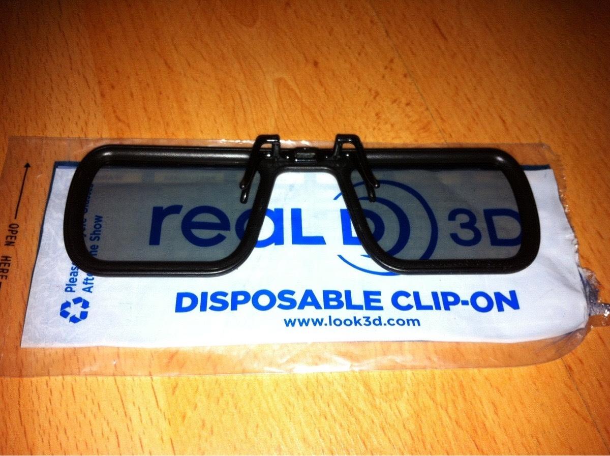 3D GLASSES FOR GLASSES WEARERS - £1 @ VUE Cinemas