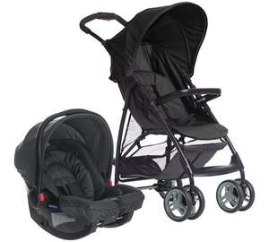 Graco Literider Travel System Black and Grey £100.99 @ Boots