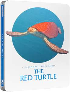 The Red Turtle Steelbook pre-order (Produced by Studio Ghibli) - £13.59 using code at Zavvi