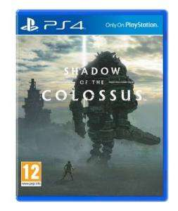 Shadow of the Colossus PS4 pre owned @ Game in-store £14.99