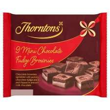 Thorntons Mini Brownie Bites 9Pk 70p @ Tesco