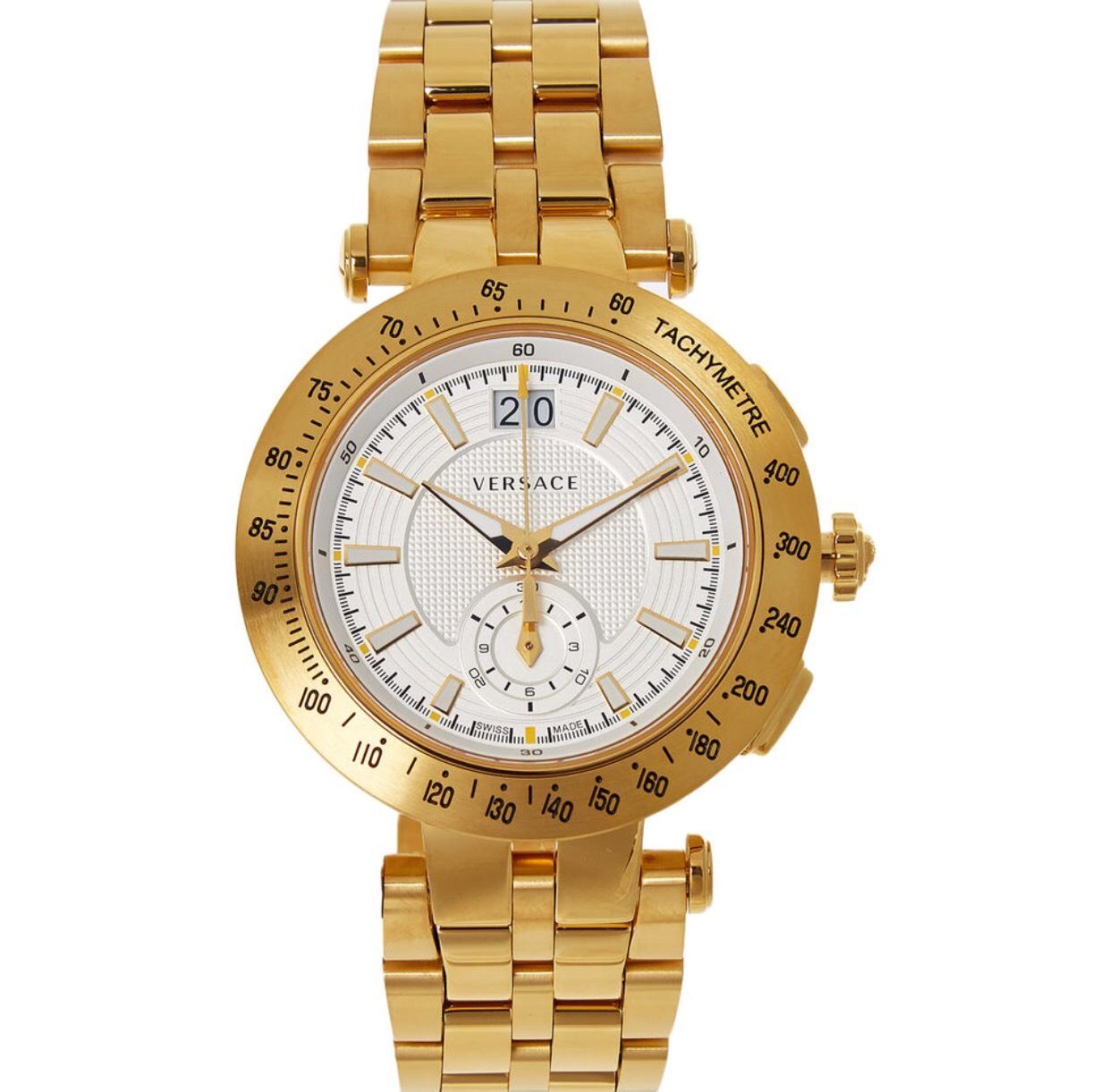 Versace V-Race gold plated watch Women's £262 @ TK Maxx