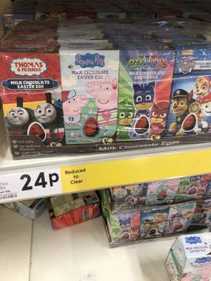 Small Easter eggs. 24p @ Tesco