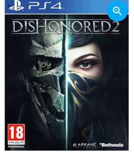 Dishonored 2 £4.99 PS4/ £7.99 Xbox one free delievery @Game(preowned)