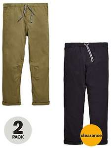2X pull on trousers age 7,8 yrs £11 @ Very