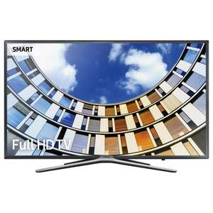 "Samsung UE32M5520 LED Full HD 1080p Smart TV, 32"" Dark Grey. 5 Years Warranty (Delivered) at John Lewis for £279"