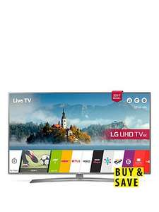 LG 43UJ670V 43 inch, 4K Ultra HD HDR, Freeview Play, Smart, LED TV £369.99 @ Very