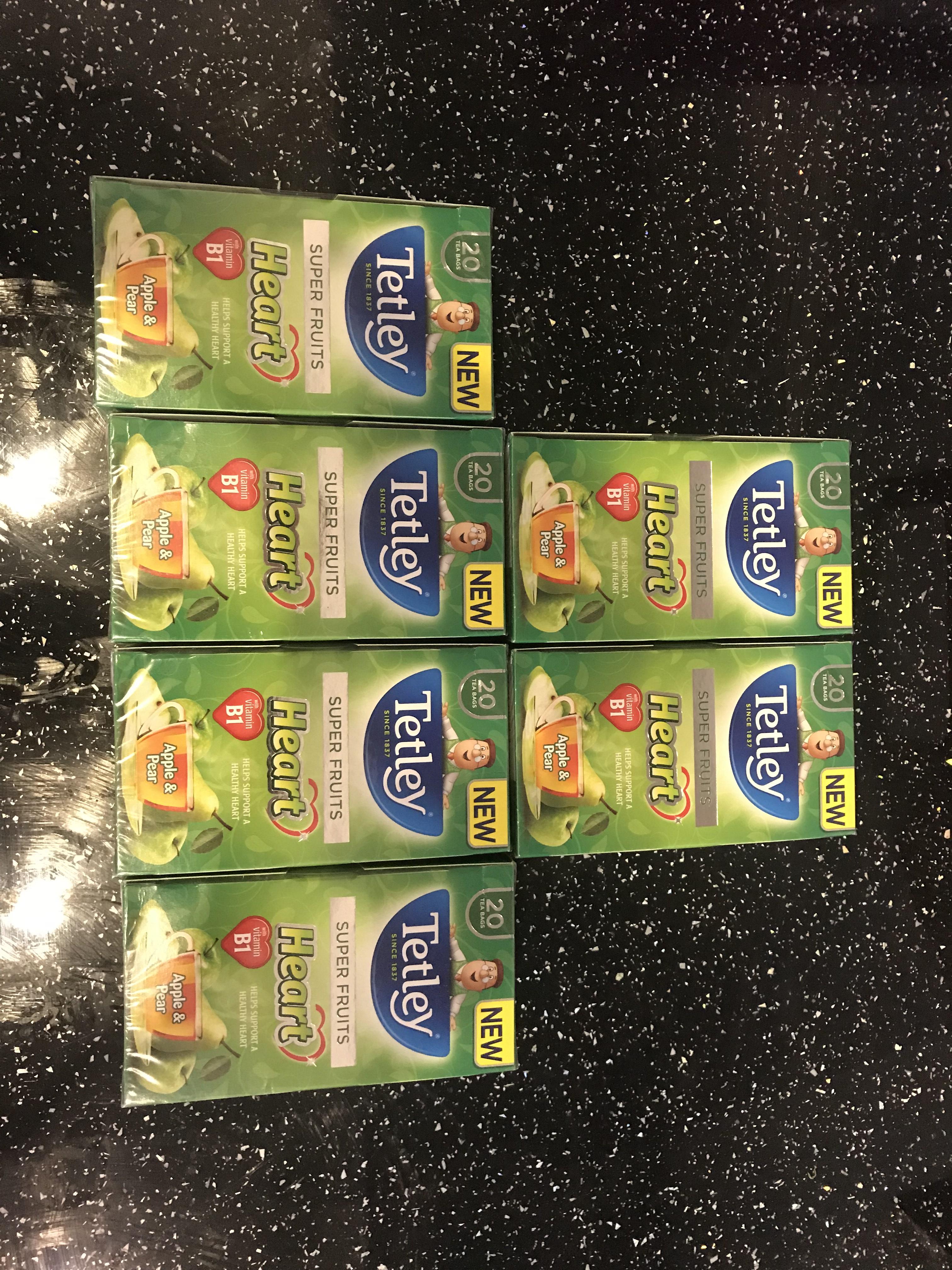 Tetley tea - super fruits scanning 2p in CoOp