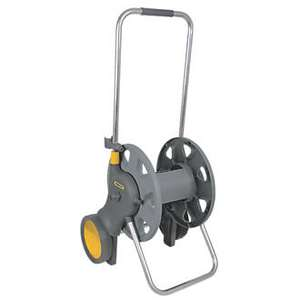 Hozelock Hose Trolley/Reel (up to 90M hose) now £19.99 C+C @ Screwfix