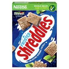 Nestle Shreddies Frosted Cereal 500G £1.30 Tesco