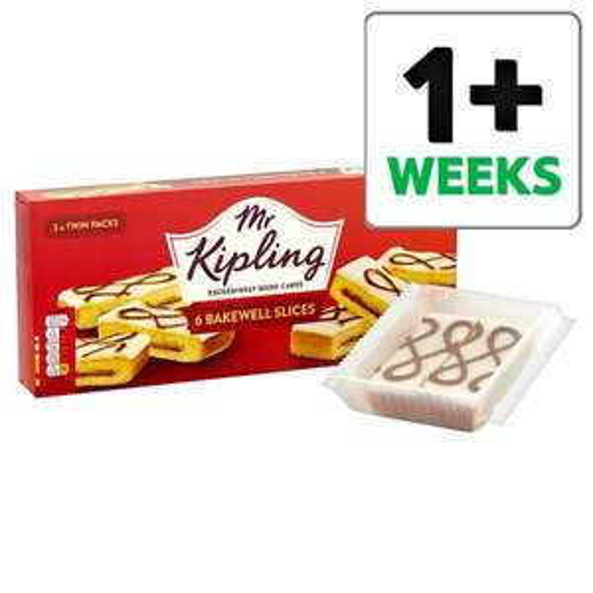 Mr Kipling Bakewell Slices 6 Pack 80p @ Tesco Groceries