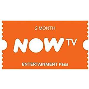 NOW TV 2 Month Entertainment Pass £4.95 Del @ Amazon - Sold / Dispatched by Sandtec