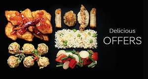Chinese Takeaway for Two - Two Mains + Two sides £10 @ M&S instore from 9th May