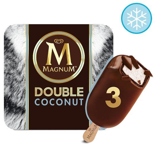 Magnum Double Coconut Ice Cream 3 X88ml Half Price £1.94 @ Tesco