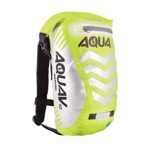 Oxford Aqua V 12 Waterproof Visibility Motorcycle Rucksack £25.98 delivered - Winstanleys Bikes