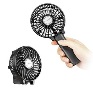 *Lightning Deal* Rechargeable Handheld Electric Fan £8.49 Free Del Amazon Prime £4.49 None Prime Sold by EasyAcc Fulfilled by Amazon