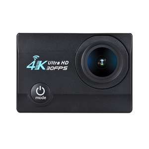 "2"" LCD Screen V3 4K 16MP FHD WiFi Action Sports Camera £19.80 Delivered / UFO IP Cam 1080p  £17.82 @ Tomtop"